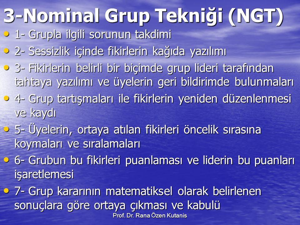 3-Nominal Grup Tekniği (NGT)