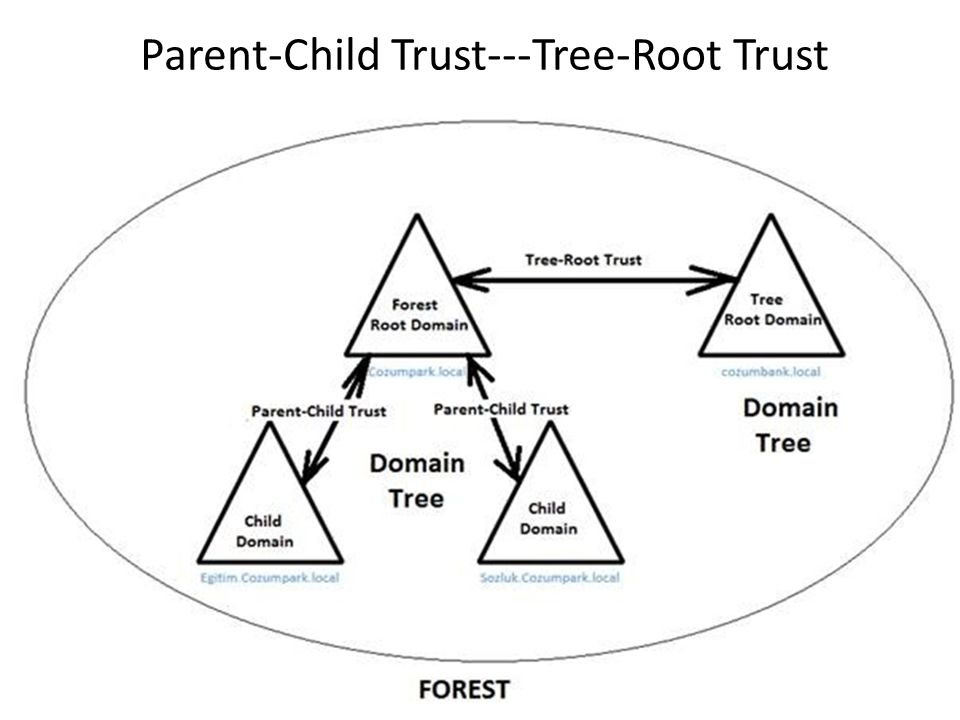 Parent-Child Trust---Tree-Root Trust
