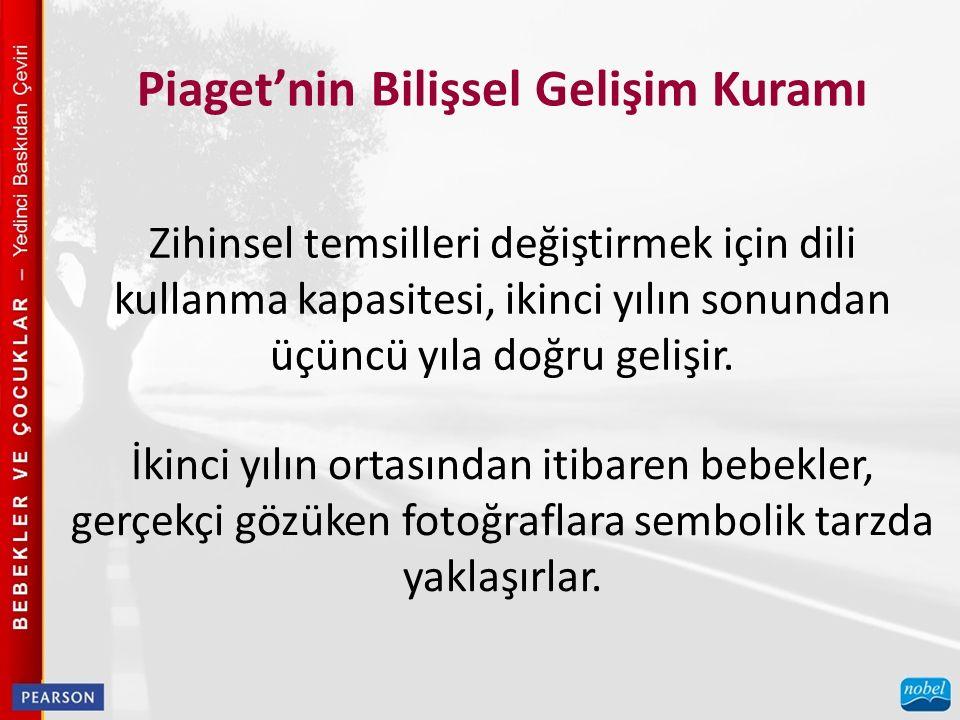 Piaget'nin Bilişsel Gelişim Kuramı