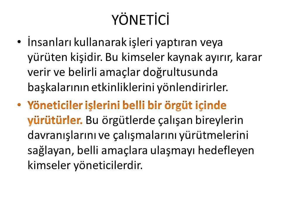 YÖNETİCİ