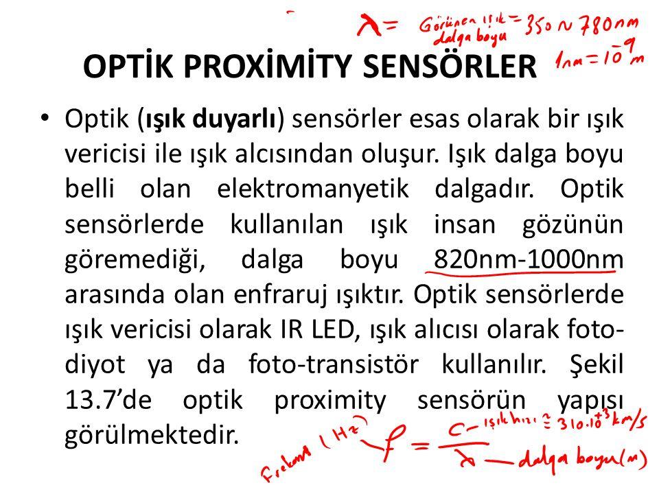 OPTİK PROXİMİTY SENSÖRLER