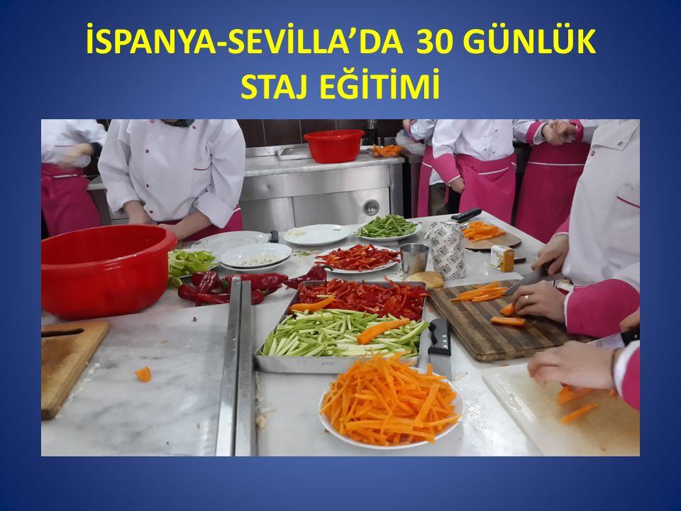 İSPANYA-SEVİLLA'DA 30 GÜNLÜK STAJ EĞİTİMİ