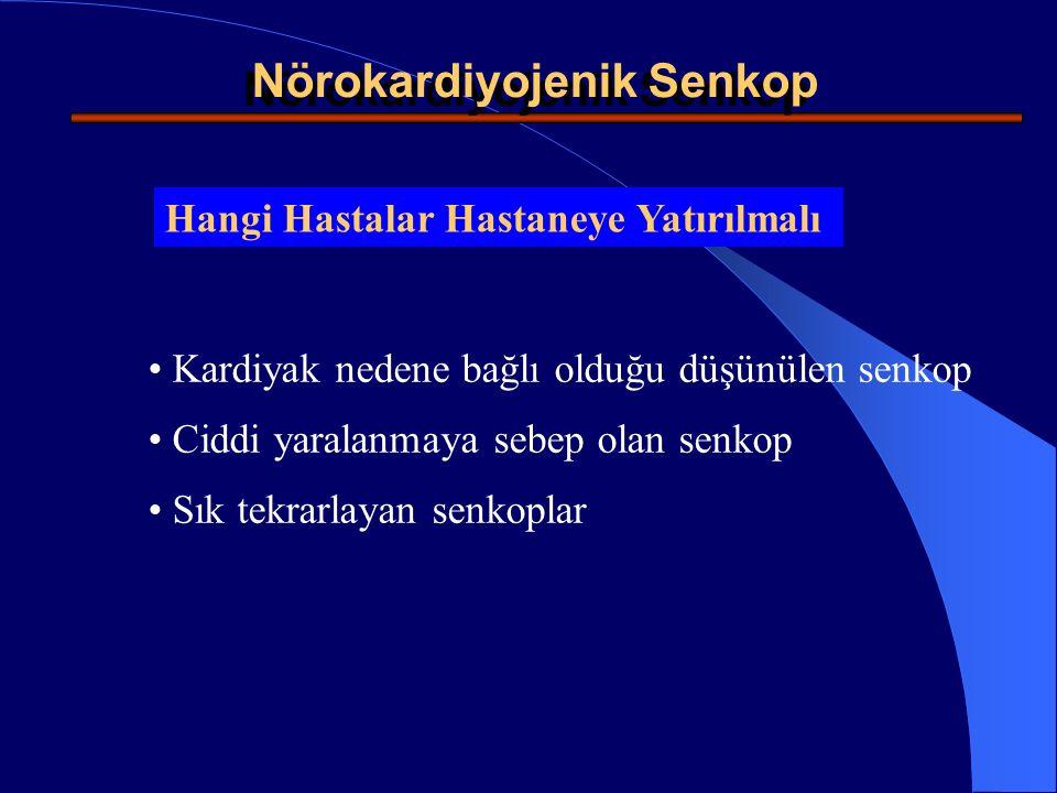 Nörokardiyojenik Senkop
