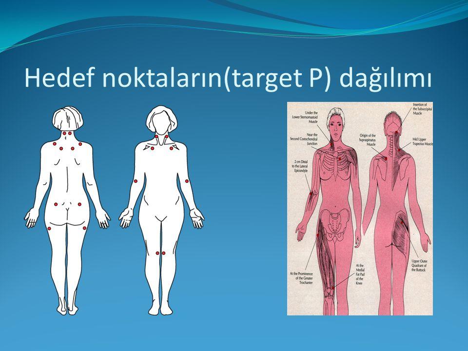 Hedef noktaların(target P) dağılımı