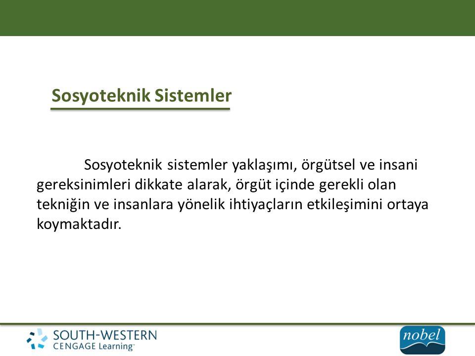 Sosyoteknik Sistemler
