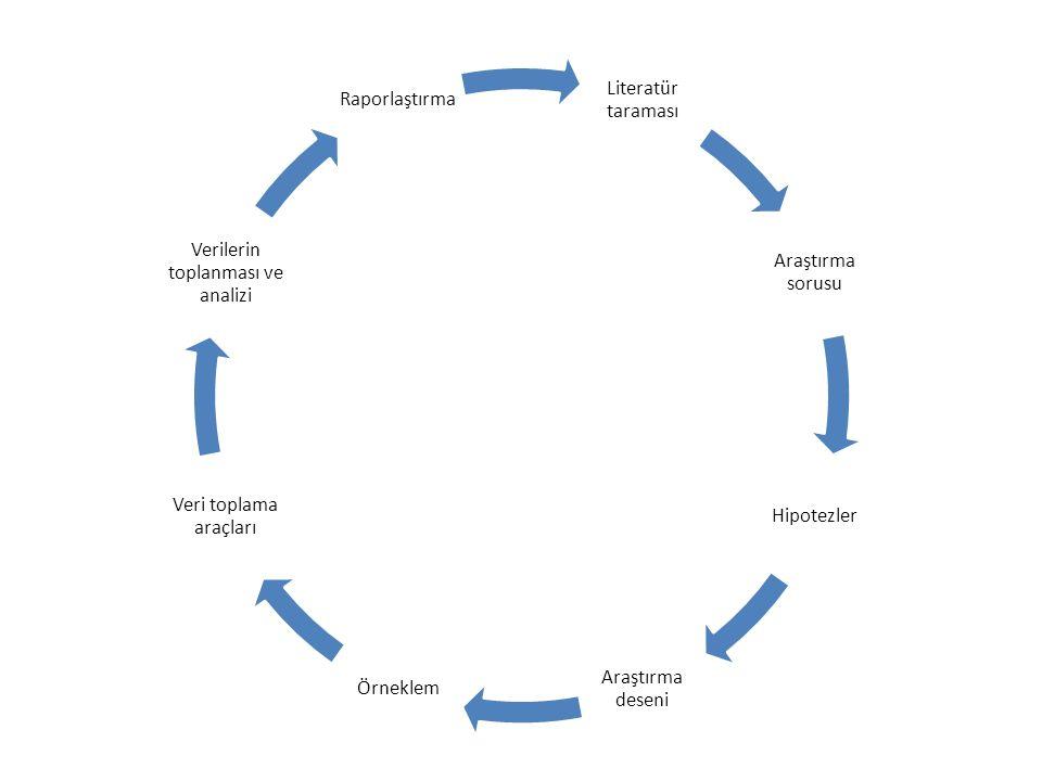 Verilerin toplanması ve analizi