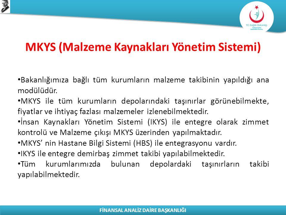 MKYS (Malzeme Kaynakları Yönetim Sistemi)