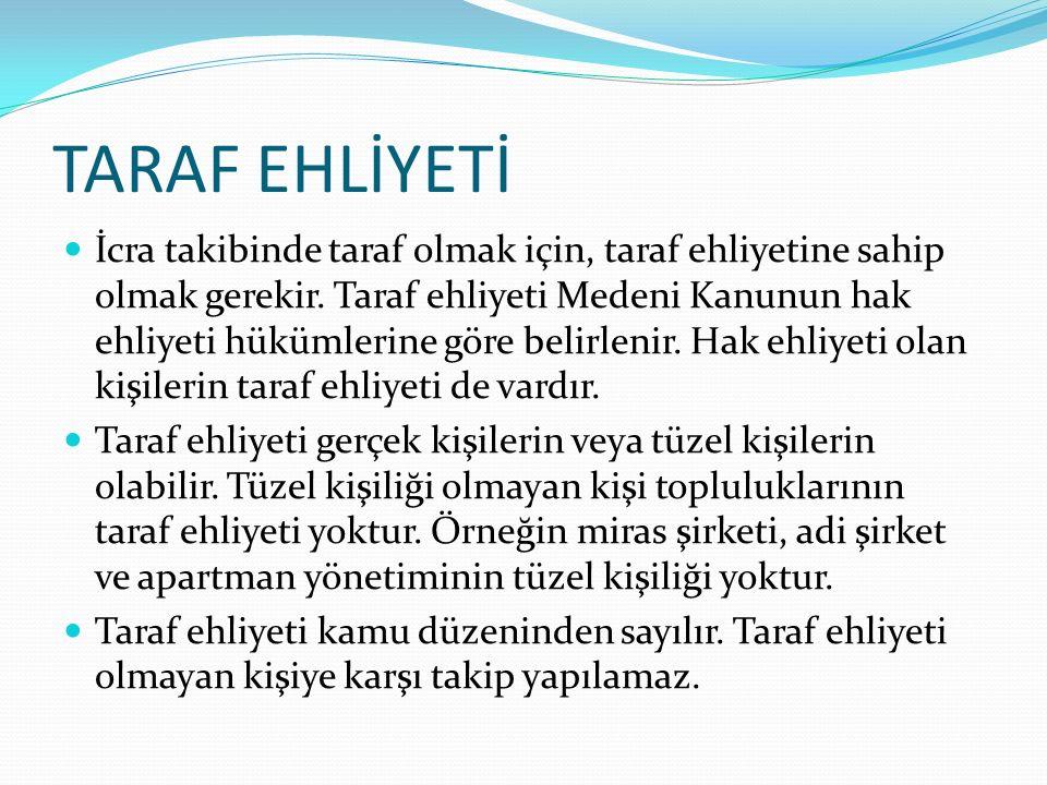 TARAF EHLİYETİ
