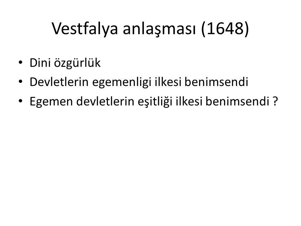 Vestfalya anlaşması (1648)