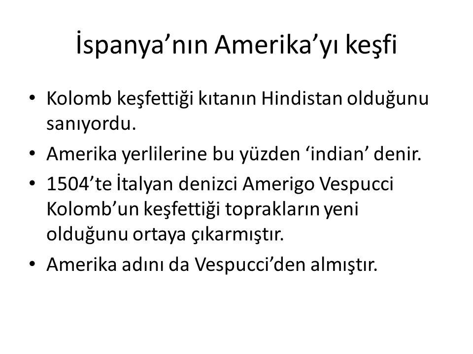 İspanya'nın Amerika'yı keşfi