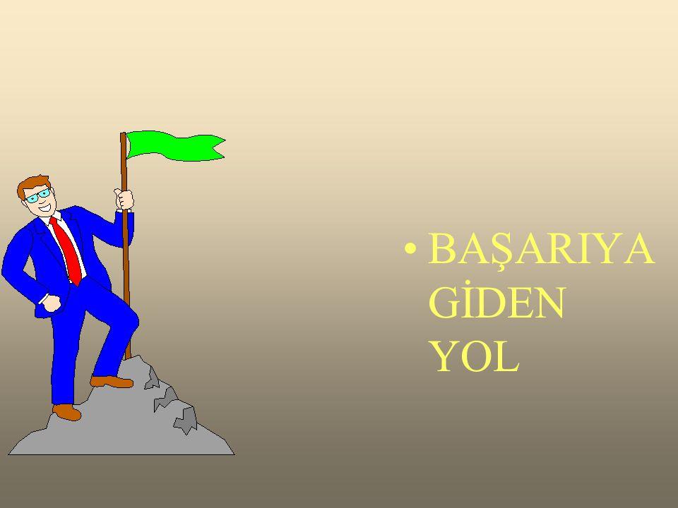 BAŞARIYA GİDEN YOL