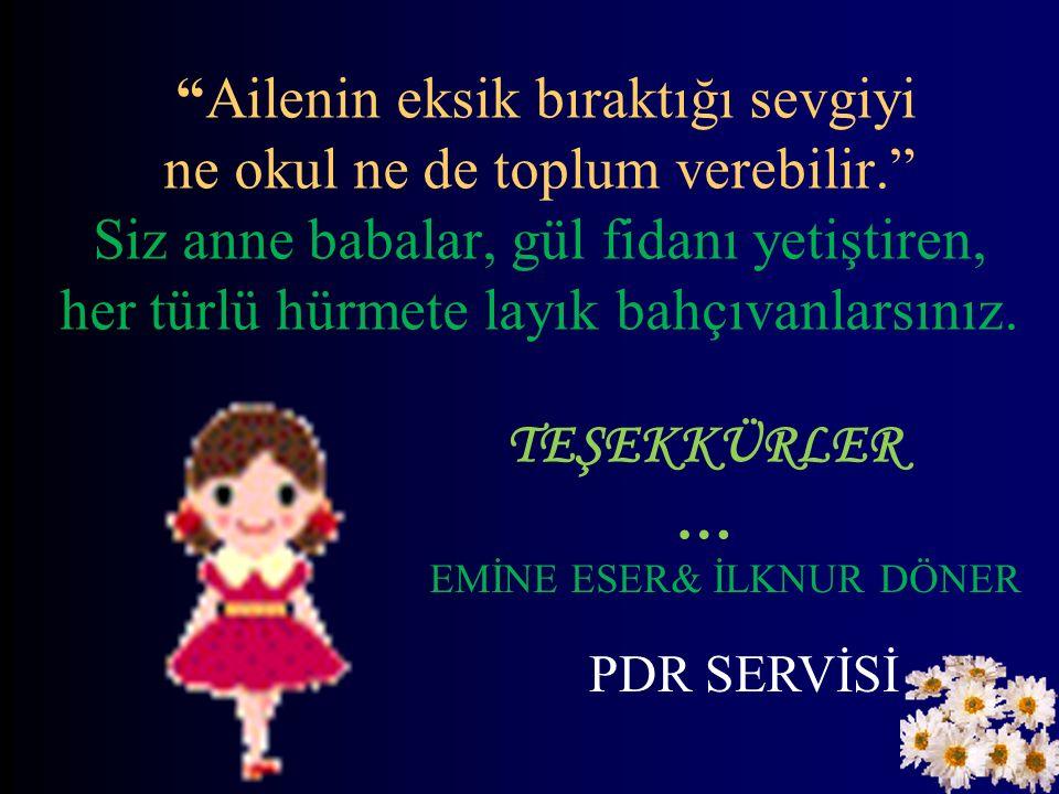 EMİNE ESER& İLKNUR DÖNER