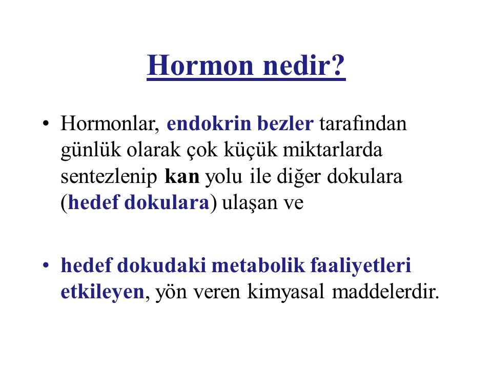 Hormon nedir