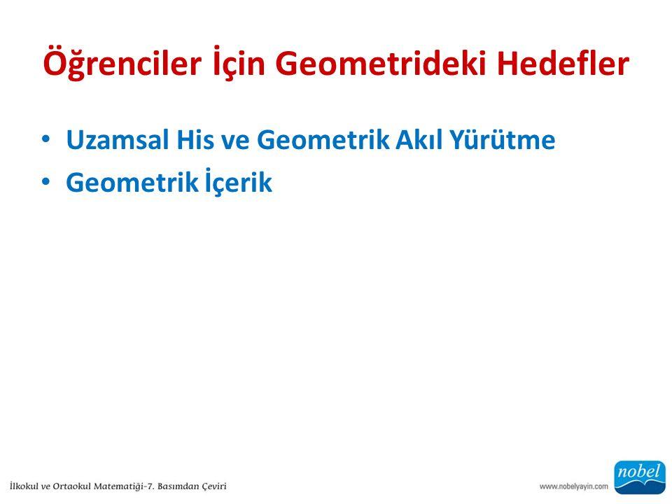 Öğrenciler İçin Geometrideki Hedefler