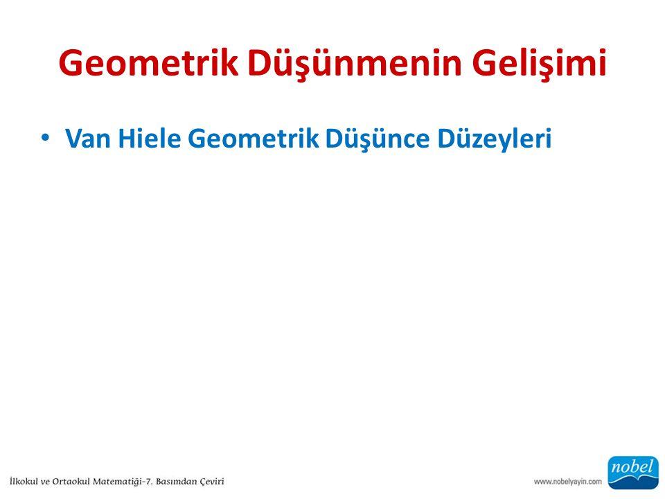 Geometrik Düşünmenin Gelişimi