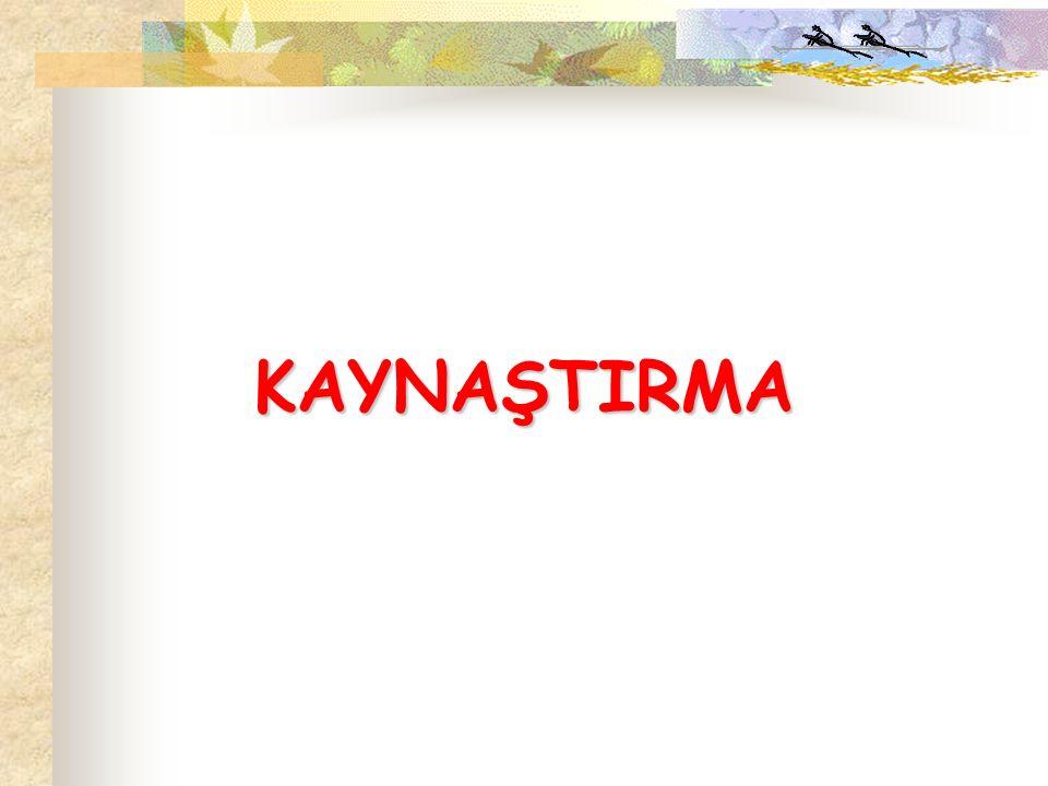 KAYNAŞTIRMA