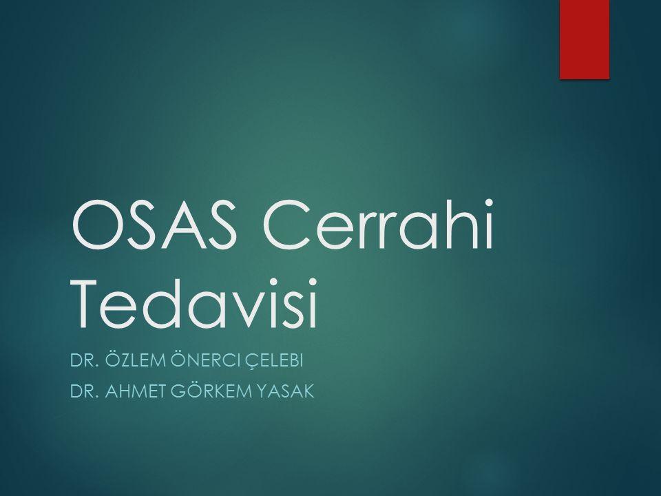 Dr. Özlem Önerci Çelebi Dr. Ahmet görkem yasak