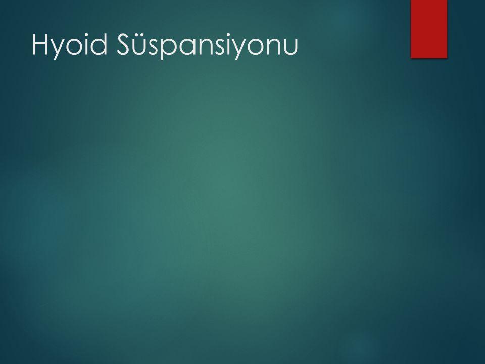 Hyoid Süspansiyonu