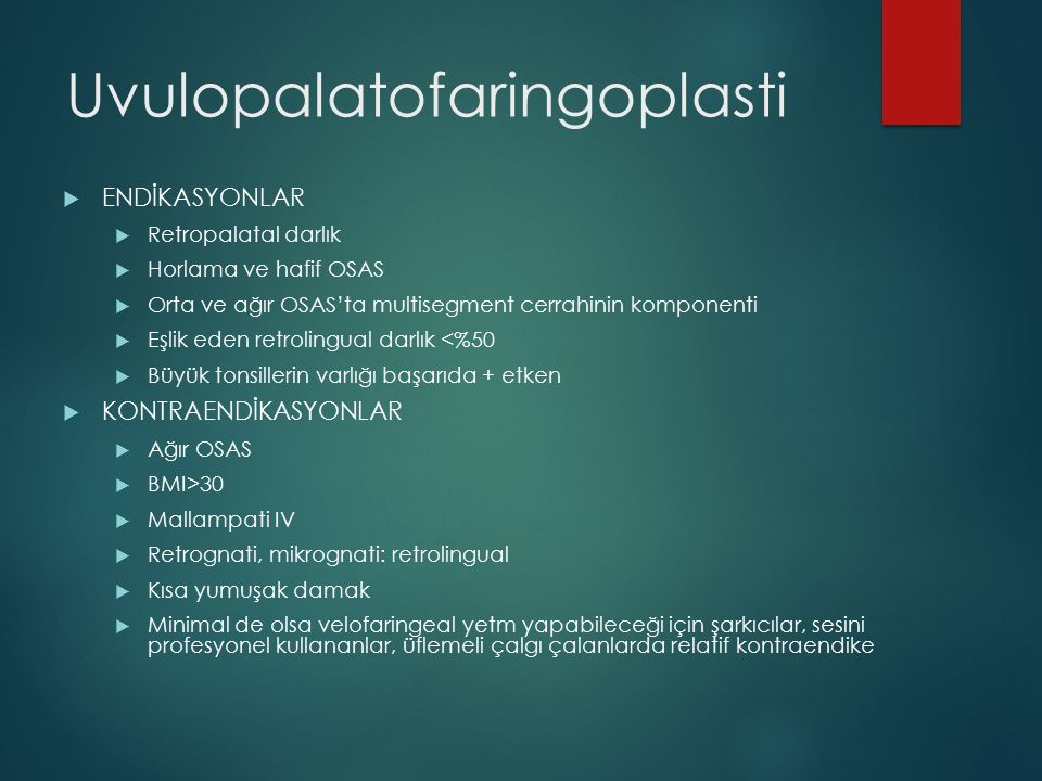 Uvulopalatofaringoplasti