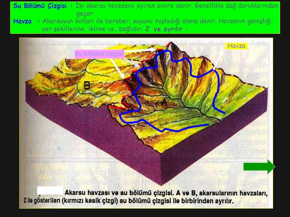 yer şekillerine, iklime vs.. bağlıdır. 2' ye ayrılır :