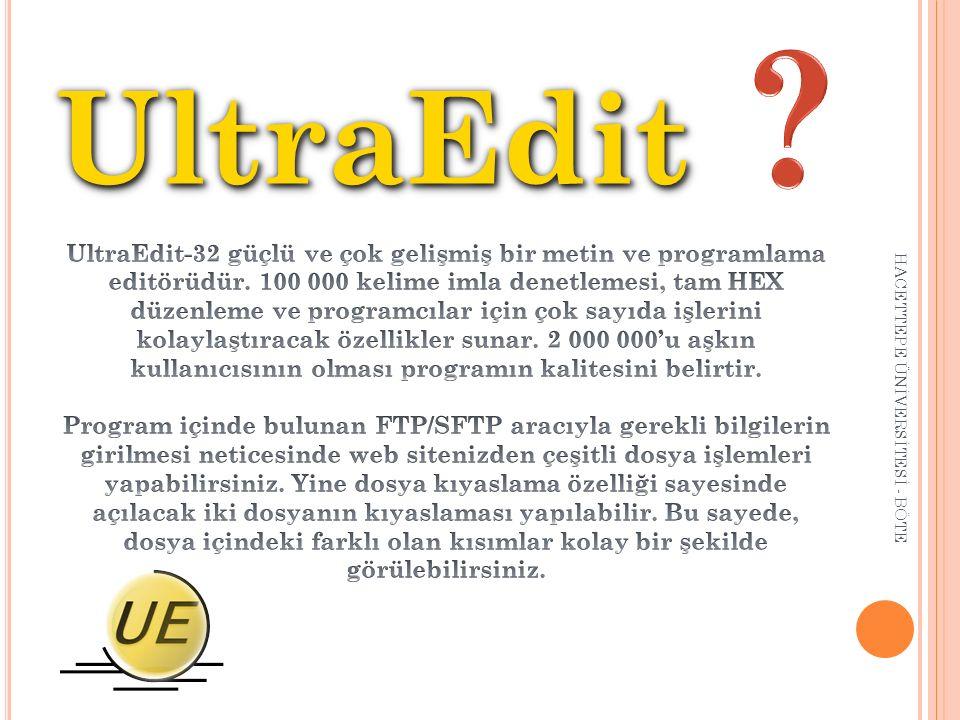 UltraEdit.