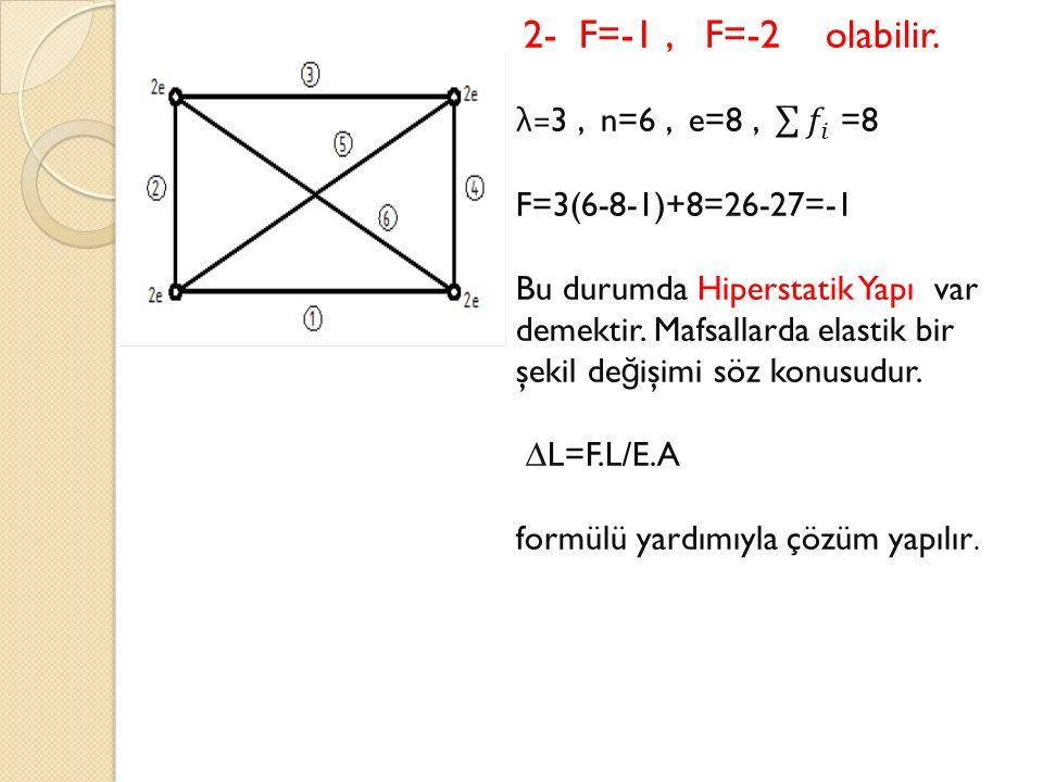 formülü yardımıyla çözüm yapılır.
