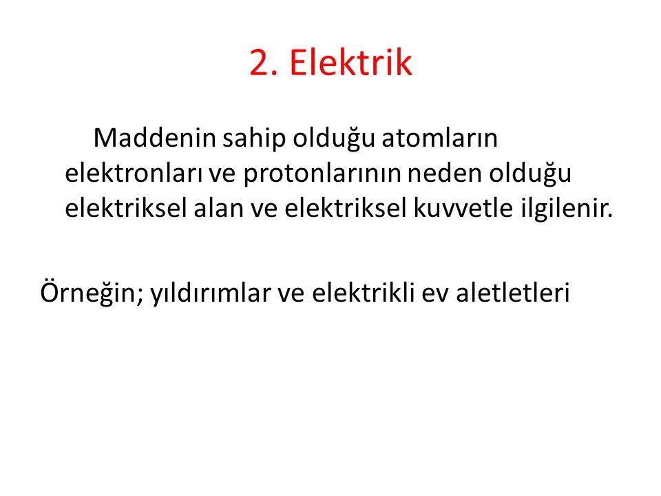 2. Elektrik