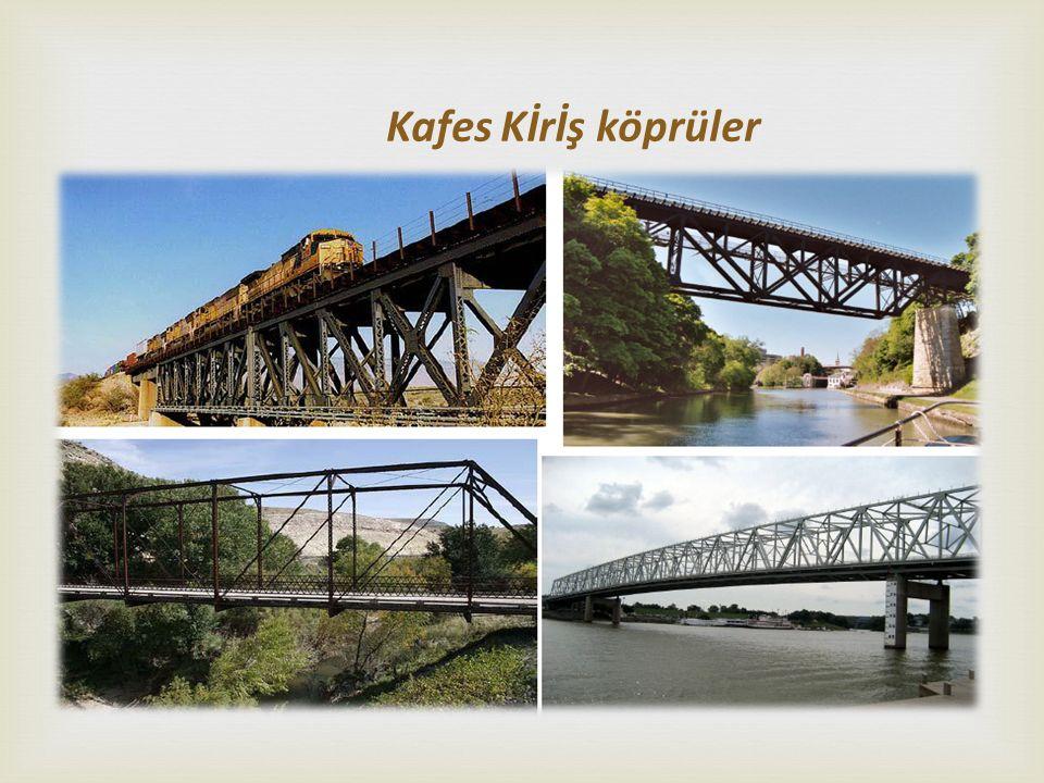 Kafes Kİrİş köprüler