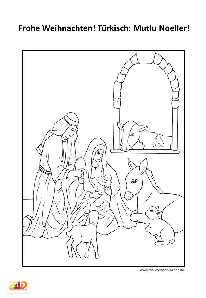 Gemütlich Frohe Weihnachten Malvorlagen Für Kinder Galerie - Ideen ...