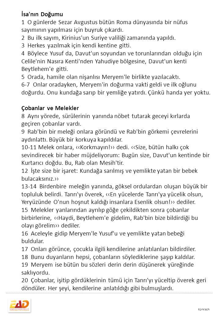 2 Bu ilk sayım, Kirinius un Suriye valiliği zamanında yapıldı.