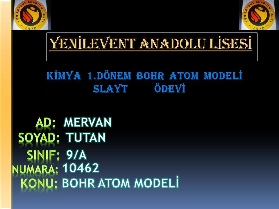 YENİLEVENT ANADOLU LİSESİ