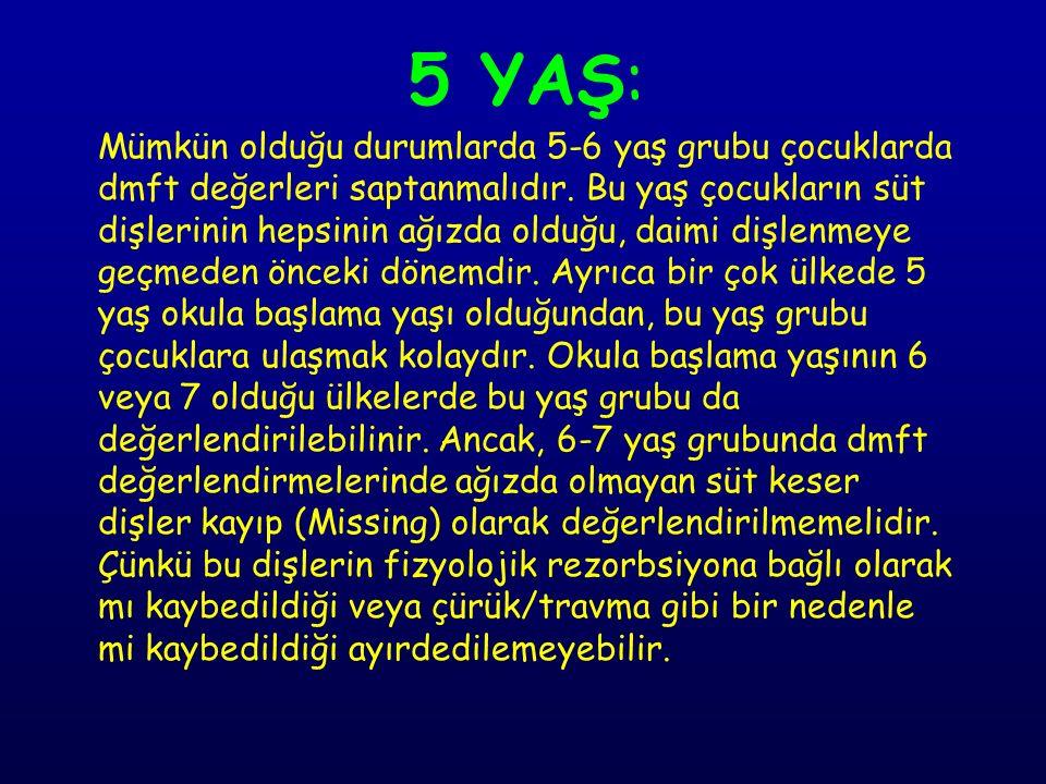 5 YAŞ: