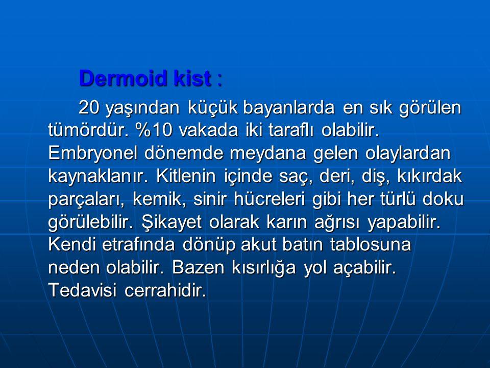 Dermoid kist :