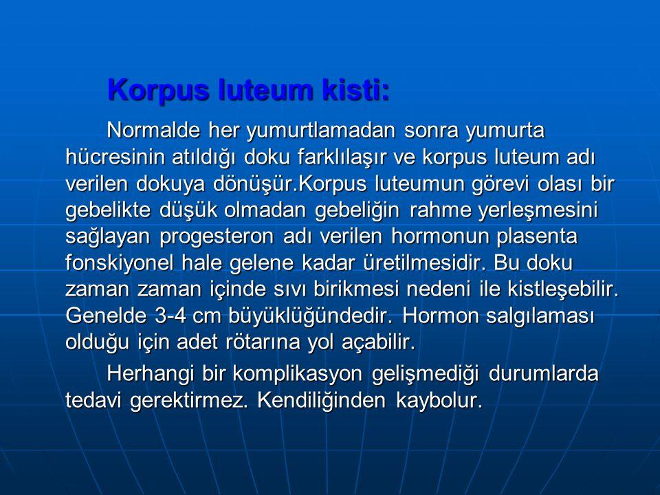 Korpus luteum kisti: