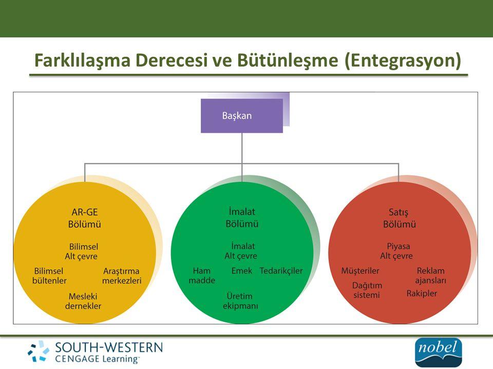 Farklılaşma Derecesi ve Bütünleşme (Entegrasyon)