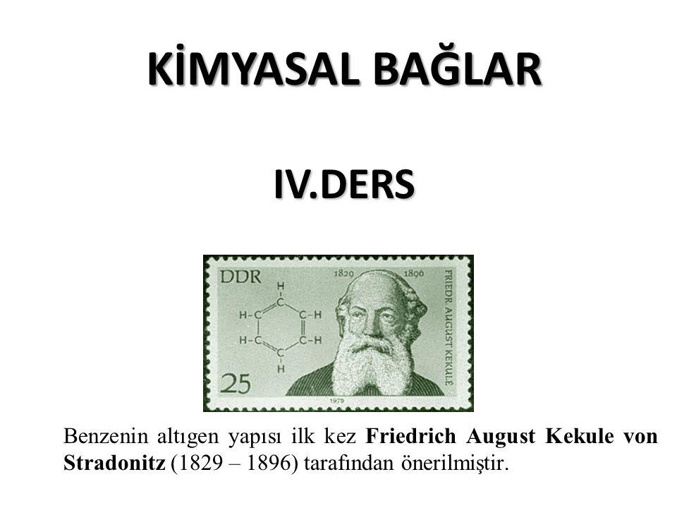 KİMYASAL BAĞLAR IV.DERS
