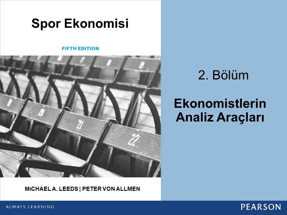 Ekonomistlerin Analiz Araçları Mıchael A. Leeds | Peter von Allmen