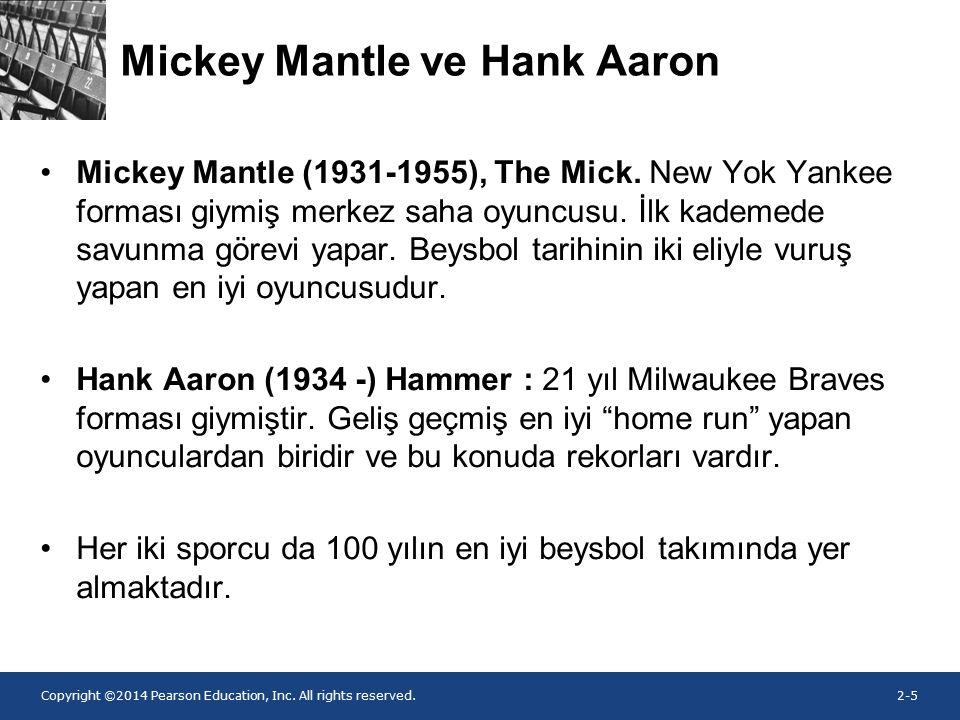 Mickey Mantle ve Hank Aaron
