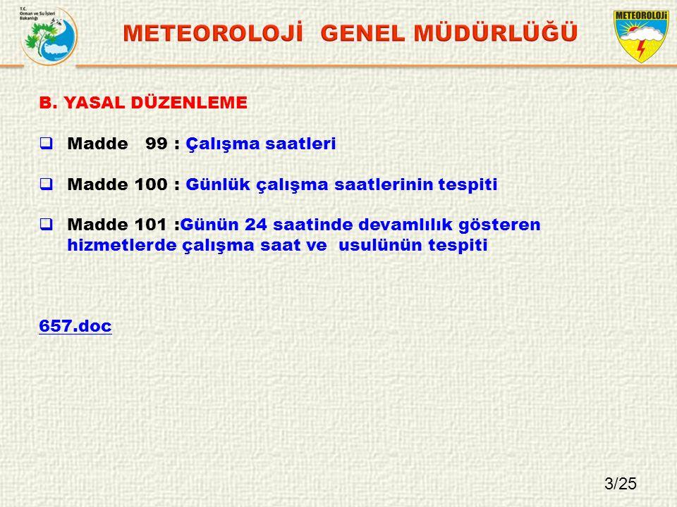 METEOROLOJİ GENEL MÜDÜRLÜĞÜ
