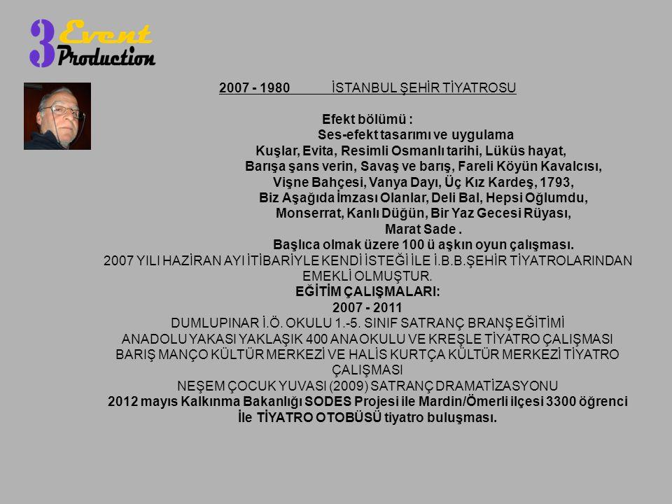 İle TİYATRO OTOBÜSÜ tiyatro buluşması.