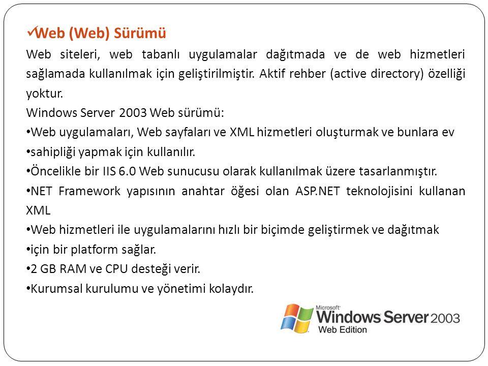 Web (Web) Sürümü