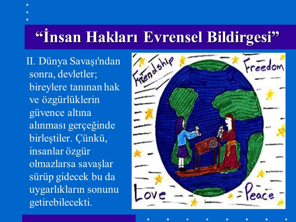 İnsan Hakları Evrensel Bildirgesi