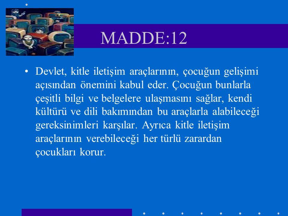 MADDE:12
