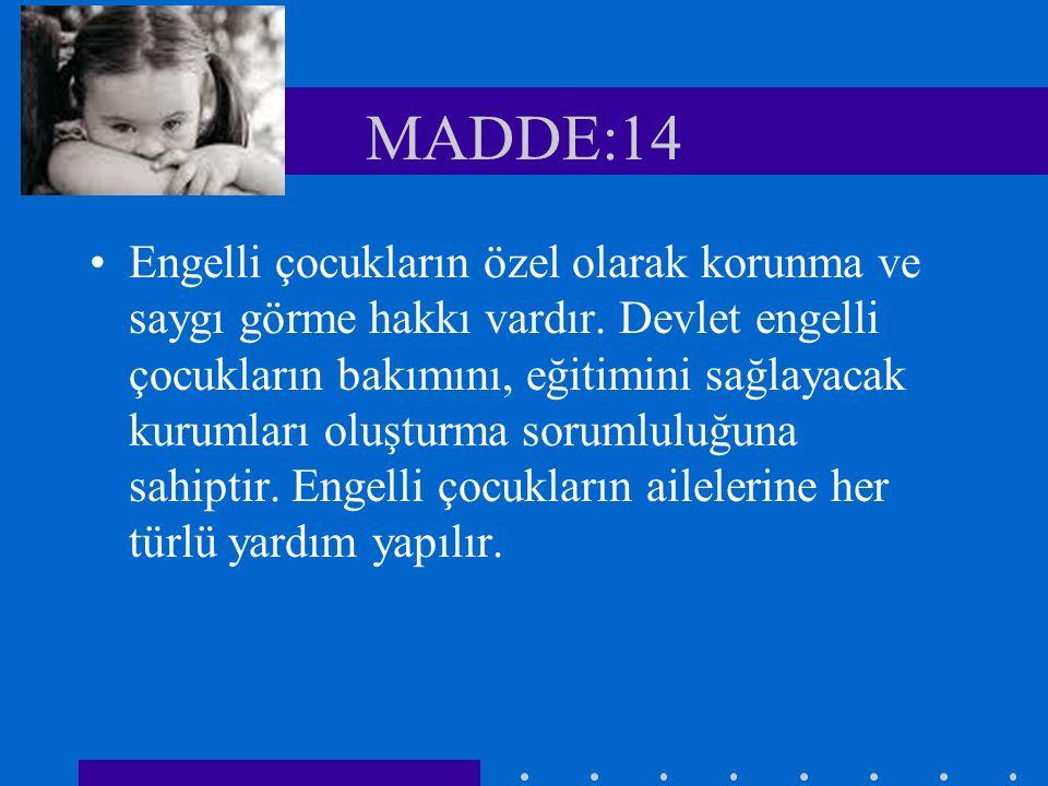 MADDE:14