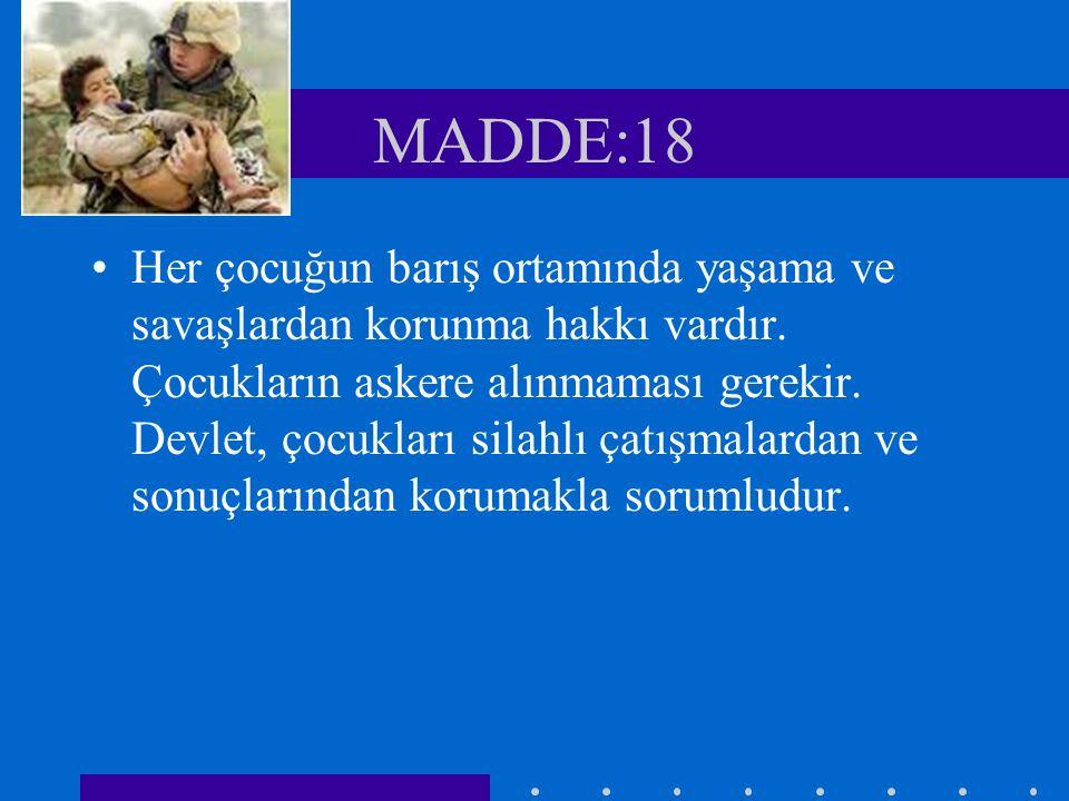 MADDE:18