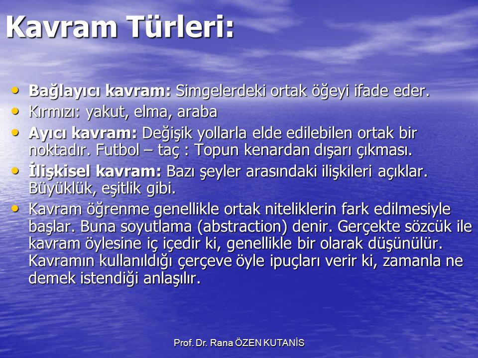 Prof. Dr. Rana ÖZEN KUTANİS