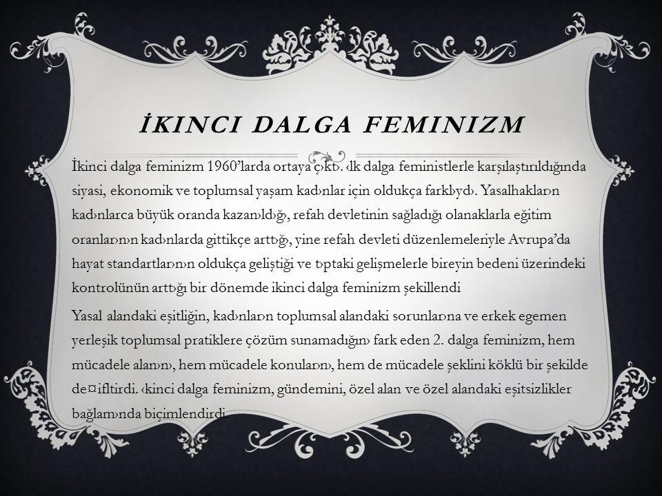 İkinci Dalga Feminizm