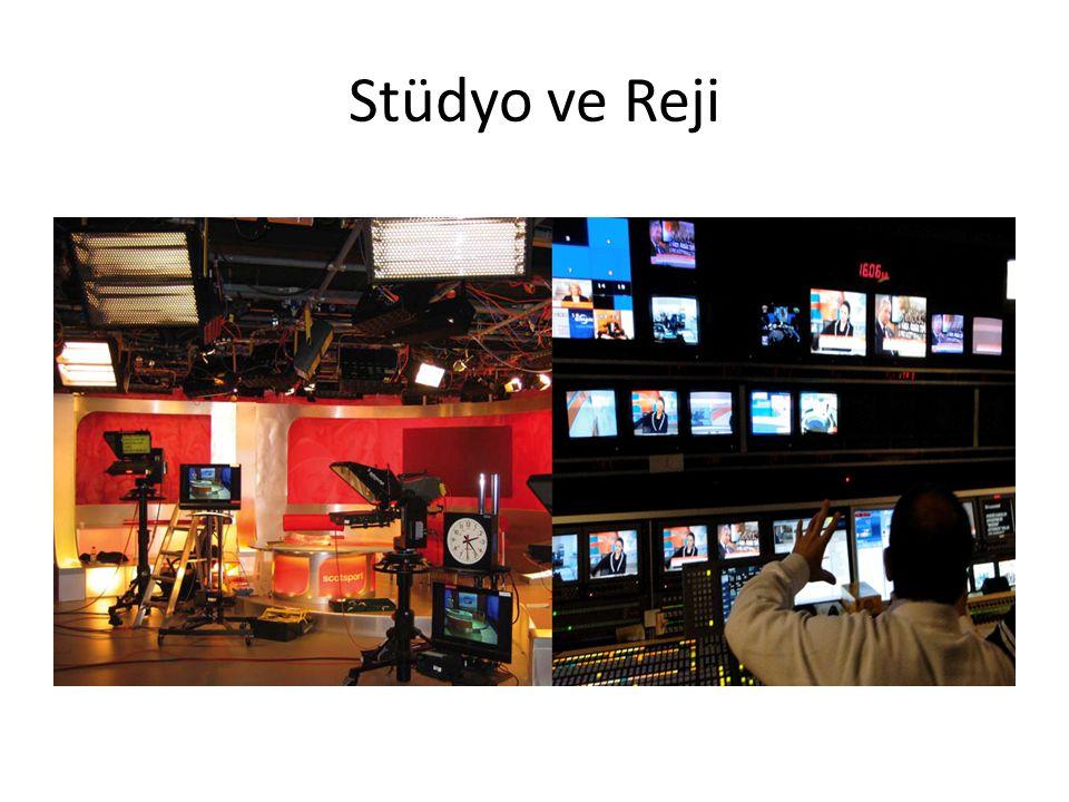 Stüdyo ve Reji