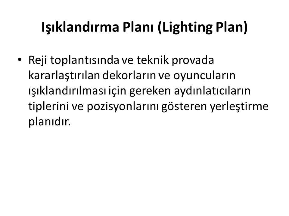 Işıklandırma Planı (Lighting Plan)