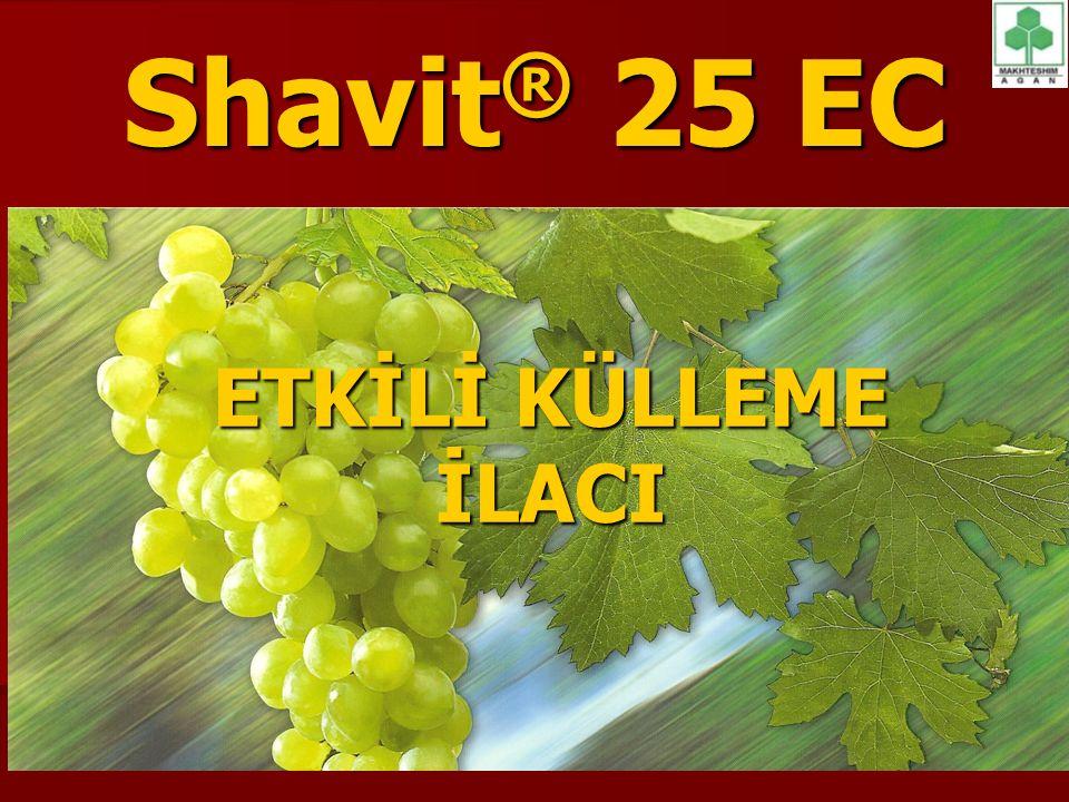 Shavit® 25 EC ETKİLİ KÜLLEME İLACI